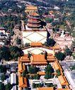 排云殿-佛香阁,鸟瞰北京,首都风光,名胜 景点 旅游点