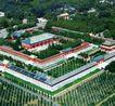 斋宫,鸟瞰北京,首都风光,风景 绿色 植物