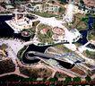 石景山游乐园,鸟瞰北京,首都风光,规划 小区 建设
