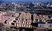 虎背口住宅小区,鸟瞰北京,首都风光,都市全景