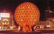 友好广场上五光十色的水晶球,辽宁省,全国各省美景,红色 网球 巨型