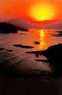 千岛湖,浙江省,全国各省美景,河滩 夕阳 西落