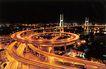 上海南浦大桥1,上海市,全国各省美景,螺旋 现代 桥梁