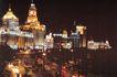 上海外滩,上海市,全国各省美景,东方 明珠 钟楼