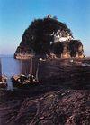小孤山,安徽省,全国各省美景,江边 土包 渔船