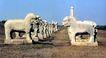 明皇陵,安徽省,全国各省美景,石雕 排列 阔地