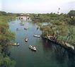 瘦西湖,江苏省,全国各省美景,河道 木船 水乡