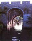 苏州水城,江苏省,全国各省美景,城墙式 桥墩 穿越