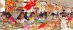 潍坊姑娘制作风筝,山东省,全国各省美景,风筝 制做 工厂