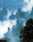 天子山风景区,湖南省,全国各省美景,秀美 云烟 张家界
