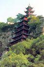石宝寨,四川省,全国各省美景,宝塔 高崖 建筑