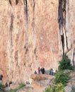 花山岩画,广西壮族自治区,全国各省美景,石壁 悬崖 峭壁