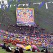 拉萨美貌0126,拉萨美貌,全国各省美景,拉萨 新疆 画面 游客 彩带