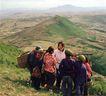 拉萨美貌0164,拉萨美貌,全国各省美景,山顶 孩子们