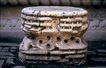 故宫内宫0097,故宫内宫,古代名胜,石墩 图纹 石纹