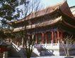 颐和园北海0066,颐和园北海,古代名胜,房屋 树枝 庭院