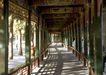 颐和园北海0073,颐和园北海,古代名胜,走廊 通道 木栏