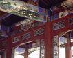 颐和园北海0075,颐和园北海,古代名胜,房梁 穿阁 雕琢