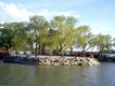 颐和园北海0078,颐和园北海,古代名胜,柳树 风吹 飘舞