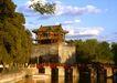 颐和园北海0079,颐和园北海,古代名胜,宫城 墙外 水池