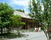 颐和园北海0091,颐和园北海,古代名胜,小屋 绿树 游人