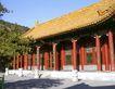 颐和园北海0096,颐和园北海,古代名胜,红柱 屋顶 琉璃瓦