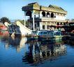 石舫1,颐和园美景,古代名胜,水乡 船只 房屋