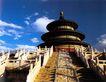 祈年殿大殿,颐和园美景,古代名胜,斜坡 雕琢 龙纹