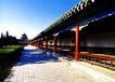 长廊2,颐和园美景,古代名胜,走廊 地面 草地