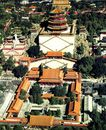 鸟瞰佛香阁,颐和园美景,古代名胜,