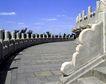 天坛礼堂长廊0062,天坛礼堂长廊,古代名胜,石板 路面 护栏
