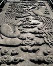 天坛礼堂长廊0064,天坛礼堂长廊,古代名胜,凤纹 道路 上朝