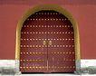 天坛礼堂长廊0069,天坛礼堂长廊,古代名胜,朱门 红墙 宫墙