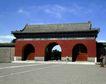 天坛礼堂长廊0078,天坛礼堂长廊,古代名胜,拱门 通行 宫内
