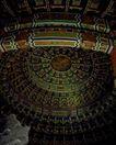 天坛礼堂长廊0081,天坛礼堂长廊,古代名胜,参观 艺术 展品