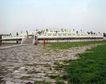 天坛礼堂长廊0083,天坛礼堂长廊,古代名胜,宽广 视线 礼堂