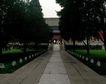 天坛礼堂长廊0087,天坛礼堂长廊,古代名胜,街道 树木 寂静
