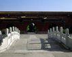天坛礼堂长廊0092,天坛礼堂长廊,古代名胜,小桥 栏杆 院墙