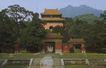 文物景点0062,文物景点,古代名胜,寺庙 绿树 景色