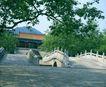 文物景点0078,文物景点,古代名胜,缓坡 古桥 建筑