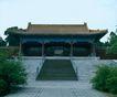 文物景点0079,文物景点,古代名胜,石阶 缓坡 古屋