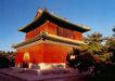 钟楼2,宝陵碑亭,古代名胜,小楼 红墙 树木