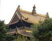 避暑山庄0097,避暑山庄,古代名胜,屋顶 画角 绿叶