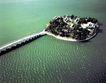鸟瞰南湖岛,明陵幽景,古代名胜,