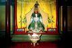 龙王塑像,明陵幽景,古代名胜,香炉 笃信 宗教