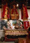 长城佛像0067,长城佛像,古代名胜,桌案 红烛 神像