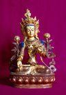 长城佛像0068,长城佛像,古代名胜,女神 铜像 艺术