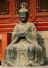 长城佛像0073,长城佛像,古代名胜,神仙 女神 坐姿