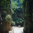 故宫内景0080,故宫内景,古代风景,山缝 空隙 小路