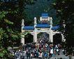 地方名胜0056,地方名胜,古代风景,地方名胜 假日 游览人潮